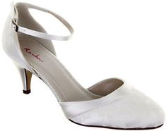 Rainbow Club Penny Lace Ankle Strap Court Shoes, Ivory on shopstyle.co.uk