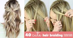 Loving braids? There are a lot of beautiful braid styles and cute hair braiding tutorials from all over the internet, and Pinterest just makes us so much more in love with it! But how do you rock a braid when you do not know how to braid from the first place? Find the best easy step by step tutorial