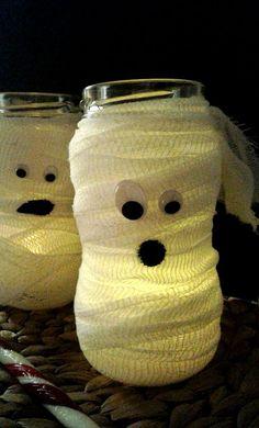 Halloween Bastelideen für Kinder - DIY Bastelideen - Halloweendeko selbermachen