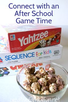 Mix up your after school routine with an after school game time and #FisherNutExactly #ad