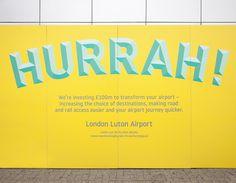 ico Design - London Luton Airport - Environment / Digital / Campaign