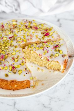 Cake Recipes, Sweet Recipes, Baking Recipes, Dessert Recipes, Make Ahead Desserts, Delicious Desserts, Moroccan Party Food, Love Cake Recipe, Persian Desserts