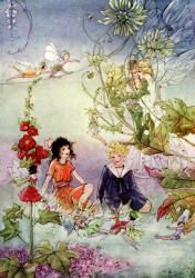 The Cradle Ship (1916) Babyland  Fairies from every Flower and Tree