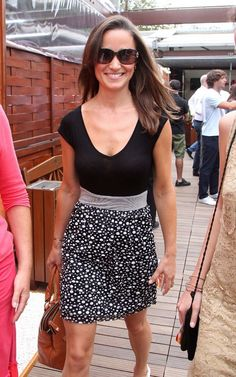 Cute outfit. Pippa Middleton.