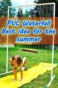 PVC waterfall: best | Craft DIY Hub