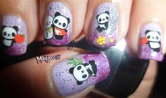 "<p>Via <a href=""http://nailartgallery.nailsmag.com/madjennsy/photo/333063/cute-panda-nails"">Nail Art Gallery</a>.</p>"