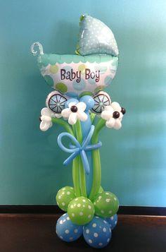 Fun baby shower decor piece