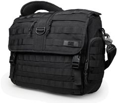 Messenger Diaper Bag - Side View | Mission Critical