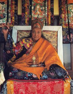 """In the midst of clouds of impermanence and illusion, dances the lightning of life. Can you say you won't die tomorrow? Practice the Dharma."" HH Dilgo Khyentse Rinpoche"