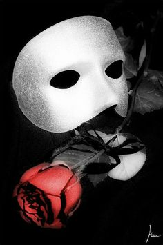Mask and rose..kh