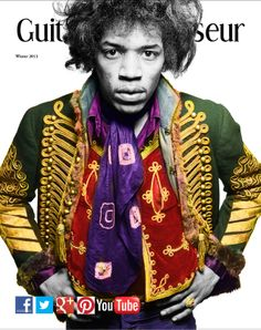 Enjoy our current Hendrix Issue: www.guitarconnoisseur.com