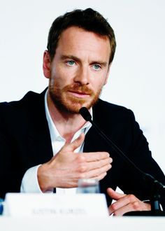 """Michael Fassbender attends the """"Macbeth"""" press conference during the 68th annual Cannes Film Festival on May 23, 2015 in Cannes, France."""