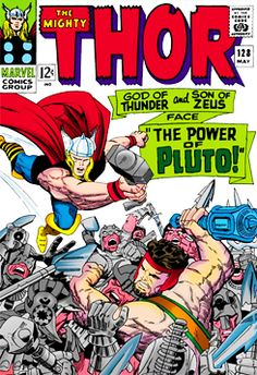 Jack Kirby. The first Thor comic I read back in the 1960's!