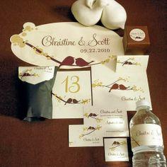 Love Bird Wedding Theme Invitation Http Simpleweddingstuff Blo