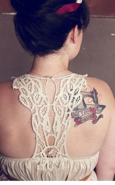 Sewing Machine tattoo - Red Velvet Shop - Rachel Denbow