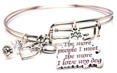 ChubbyChicoCharms When My Arms Cant Reach You My Prayers Can Stainless Steel Rope Chain Cursive Love Necklace