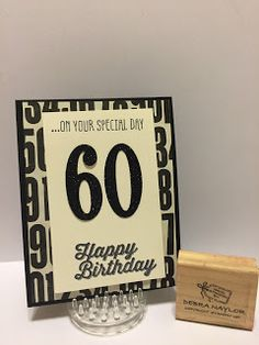The Flying Stamper: Number of Years and Sale-A-Brations Birthday Cards