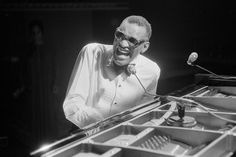 Ray Charles  Singer and pianist (1930-2004).
