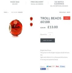 http://www.boutiquehoco.co.uk/collections/troll-beads/products/troll-beads-60188 Troll beads all #halfprice on our website with #freedelievery starting from £13!!! #troll #trollbeads #beads #charms #love