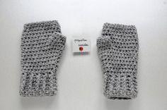 mitones tejidos en crochet / Pequeñas Cucadas - Artesanio