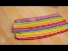SaltySeattle Makes Rainbow Fusilli - YouTube