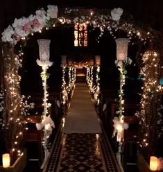 fairytale christmas magical wedding ceremony church Church Ceremony, Wedding Ceremony, Church Fashion, Magical Wedding, Fairytale, Vip, Chandelier, Christmas Tree, Ceiling Lights