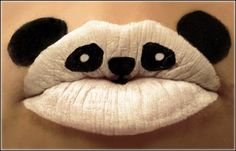 Crazy Makeup Art of the Day: These Lips Ain't Meant for Kissing