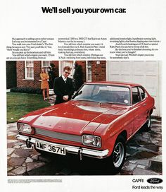 Ford Capri MK1 1969-73 always liked these as they look like a Mustang!