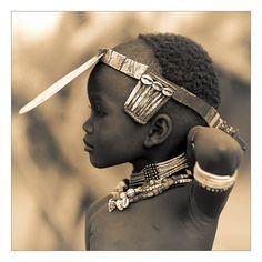 Hamar Child from Ethiopia