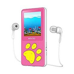 Aniee Player, Kids Player with FM Radio/Video/Photo Viewer & Voice Recorder, Music Player with Cartoon Bear Paw Button Support Up to Pi Little Girl Toys, Cool Toys For Girls, Baby Girl Toys, Kids Toy Shop, Toys Shop, Bear Cartoon, Cartoon Kids, Lol Dolls, Barbie Dolls
