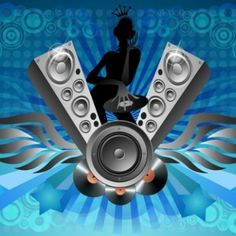 Tomas Flyer Music Speakers, Bars And Clubs, Music Pics, Party Flyer, Vintage Cards, Swirls, Acoustic, Vector Art, Musicals