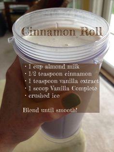 Cinnamon Roll Shake #JuicePlus