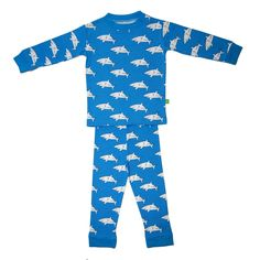 Ava and Luc Clark the Shark Pyjamas - so cool! £24 and free delivery | LittlePeco.com