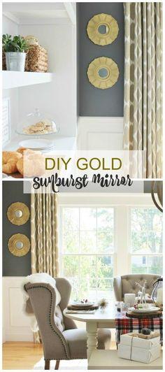 Easy DIY Sunburst Mirror  More Lowe's News