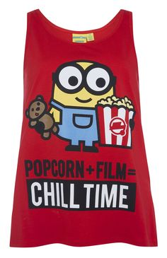 Primark – Minions Popcorn Pajama top - Do it Yourself Clothes Skater Girl Outfits, Lazy Outfits, Casual Outfits, Casual Clothes, Popcorn Shirts, Minion Movie, Emoji Movie, Cute Minions, Cute Pjs