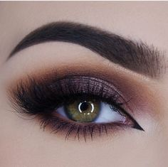 Smokey eye with deep colors try it girls !