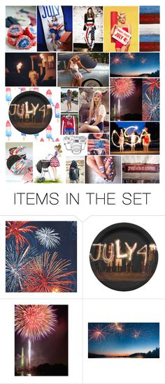 """Happy 4th of July"" by diamonds610 ❤ liked on Polyvore featuring art"