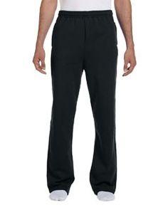 Jerzees 8 oz., 50/50 NuBlend® Open-Bottom Sweatpants 974MP