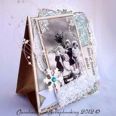 Claralesfleurs - Sac cadeau de Noël
