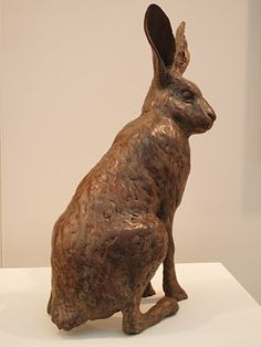 William Wilson - Hare sculpture