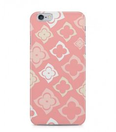 Beige and Grey Flowers Abstract Seamless 3D Iphone Case for Iphone 3G/4/4g/4s/5/5s/6/6s/6s Plus - ABSTSEAM0135 - FavCases