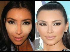 Kim Kardashian Glowing Skin tutorial makeup-inspiration