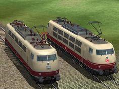 #DB #Bahndienstfahrzeuge #BR 103/750. #EEP10