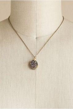 Treasure Found Raw Stone Necklace   shopgofish.com