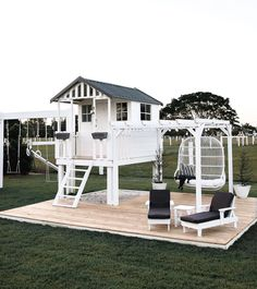 Inspire Me Home Decor, Cubby Houses, Play Houses, Morris Homes, Deco Jungle, Backyard Playground, Kids Decor, Architecture, Outdoor Living