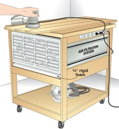 Wood Shop Air Filter Nice wooden projects