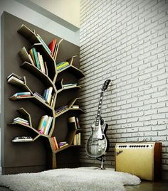 "A little ""book nook"" corner L<3VE this! (:"
