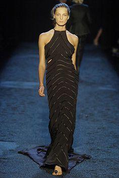 Zac Posen Spring 2005 Ready-to-Wear Fashion Show - Daria Werbowy