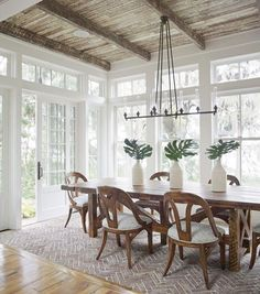 Bright and airy with a splash of rustic