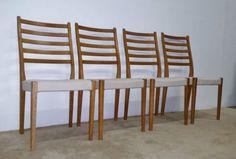 (4) MCM Svegards Danish Modern Dining Chairs —
